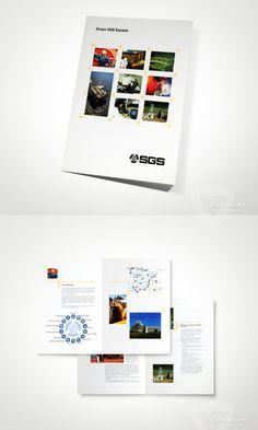 Grupo SGS España - Inspección y Calidad. Folleto Corporativo  - www.versal.net • Diseño Gráfico • Identidad Visual Corporativa • Publicidad • Diseño Páginas Web • Ilustración • Graphic Design • Corporate Identity • Advertising • Web Pages • Illustration • Logo