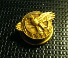 God Bless America USA Eagle Biker Motorcycle Riding Pin for Hat Vest or Lapel