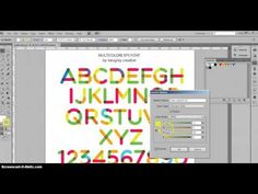 Milticolore Font : How to change colors