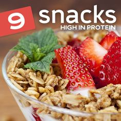 I love these high protein snacks! These are go-to snacks when I need a protein boost…