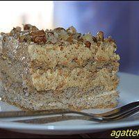 Pyszne ciasto orzechowe od Edzi