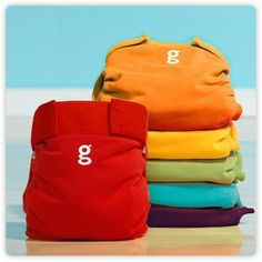 gDiapers...  A raimbow of colors, Love it!!! ♡♥♡