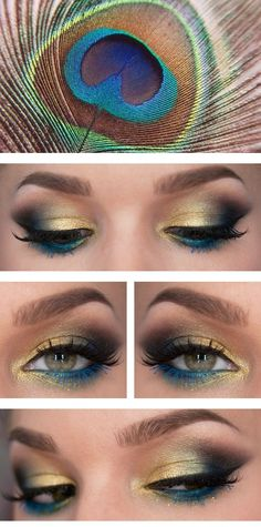 This is sooooo funky, people will need sunglasses to look at you! (ina good way of course!) We're going to show you how to achieve this amazing peacock godesa look in a few simple steps. You …