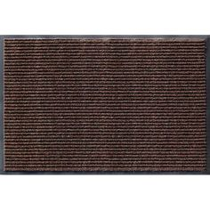 Symple Stuff Rib Commercial Indoor Only Door Mat Mat Size: Rectangle x Color: Cocoa Brown Outdoor Floor Mats, Indoor Outdoor Carpet, Indoor Door Mats, Commercial Carpet, Hobby House, Carpet Flooring, Exterior Doors, Rug Size, Size 2