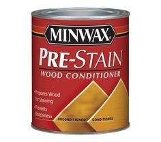 Minwax® Pre-Stain Wood Conditioner - after #220 grit sandpaper on maple.  Resulted in a very even stain on both the surface and end grain components.