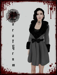 Second Life Marketplace - Barathrum - Countess Coat (DEMO)