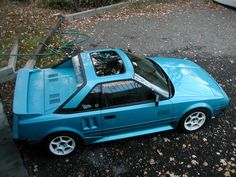 1986 MR2 AW11: a first gen MR2 is perhaps not as vintage an aesthetic as I intended for this board but they are quite striking in appearance, reliable, and surely much fun to drive.  Sunroof or T top is a nice addition.