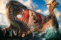 The Kraken Spite by caiomm.deviantart.com on @DeviantArt