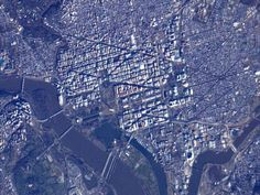 National Mall from Orbit  Astronauts on board the International Space Station captured this view of Washington, D.C. and the surrounding area on Sunday, Jan. 20, one day before the public Inauguration of President Barack Obama.