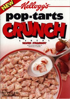 Pop-Tarts Crunch | 26 Cereals From The '90s You'll Never Be Able To Eat Again
