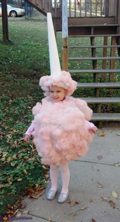 Sweet Cotton Candy - 2012 Halloween Costume Contest #Halloween #halloweencostumes