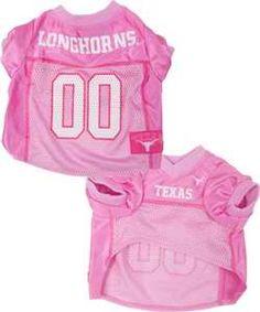 Texas Pink Pet Jersey  #cute #puppy #hookem #UT