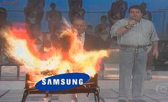 Fábrica da Samsung que fazia baterias explosivas do Galaxy Note7 pega fogo na China
