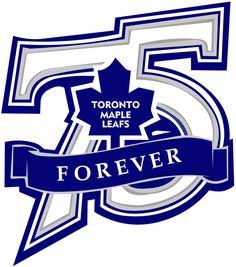Toronto Maple Leafs Anniversary Logo on Chris Creamer's Sports Logos Page - SportsLogos. A virtual museum of sports logos, uniforms and historical items. Company Anniversary, Anniversary Logo, Athletics Logo, Hockey Logos, Sport Inspiration, Toronto Maple Leafs, Sports Logo, Art Logo, Logo Branding