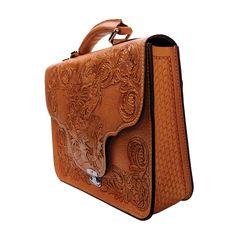 Mousai Leather Craft Briefcase