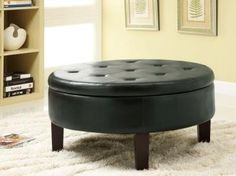 Coaster Round Upholstered Storage Ottoman with Tufted Top in Black by Coaster Home Furnishings, http://www.amazon.com/dp/B008A1CHO8/ref=cm_sw_r_pi_dp_sMnosb041SNNP