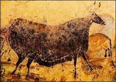 Scenes From the Stone Age: The Cave Paintings of Lascaux Art Pariétal, Paleolithic Art, Art Rupestre, Lascaux, Field Museum, Art Antique, Black Cow, Chef D Oeuvre, Stone Age