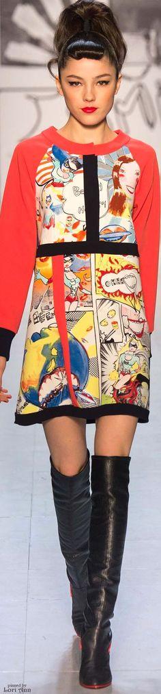 Color fashion Glam / Tsumori Chisato Fall 2015 RTW