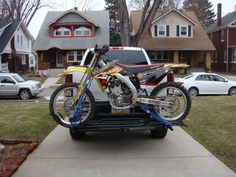 From Joshua K: I got the mototote on Friday just as you had said I would.  Thanks for the fast and free shipping!  The hardware was all very high quality, I installed it on Sunday and tested it out with one of my dirt bikes.  I am very very impressed... Thanks again!