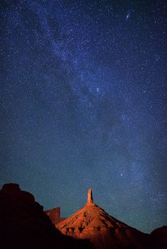 Stars over Castle Rock ( Castle Valley, Utah, USA ) | by Royce Bair