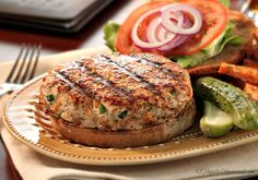 These turkey burgers are OFF THE CHARTS !!! Not dry, not crumbly and the combination of cheese and mustard that's inside keeps you taking bite after bite !!