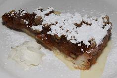 Le Paradis Brasserie Bistro Toronto Tarte aux Pommes et Noix - apple walnut tart