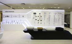 Bar Design, Design Studio, Booth Design, Store Design, Cutting Edge Stencils, Showroom Interior Design, Bathroom Interior Design, Bath Showroom, Bathroom Showrooms