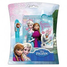 Blister Frozen Disney Libreta + Boligrafo