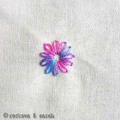 lazy daisy » Sarah's Hand Embroidery Tutorials
