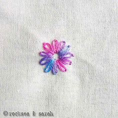 lazy daisy » Sarah's Hand Embroidery Tutorials
