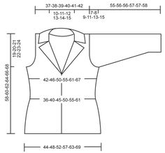 """DROPS 111-26 - Knitted DROPS jacket with collar in """"Muskat"""". Size S - XXXL. - Free pattern by DROPS Design"""