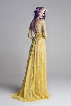 Bridesire - Trapezio A lupetto Strascico di corte Pizzo vestito [BDHFBAL] - €143.91 : Bridesire