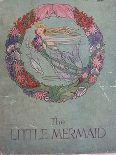 Vintage Mermaid book - Rie Cramer illustrations I want to go back and read the originals by Hans Christian Anderson! Mermaid Illustration, Children's Book Illustration, Illustrations, Vintage Mermaid, Mermaid Art, Mermaid Book, Mermaid Paintings, Manga Mermaid, Tattoo Mermaid