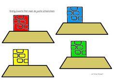 Breng de juiste zwarte piet naar de juiste schoorsteen Nouvel An, Saints, Kids, Om, Create, School, Nursery School, Child, Color