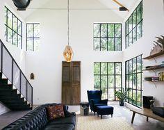 Garden St. Residence industrial-living-room | Pavinetti Office of Design