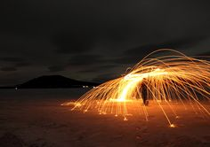 """Fire Dance On Ice"" (Submitted by Jane Markin)"