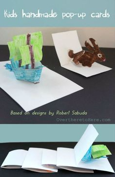how to make pop up cards kids