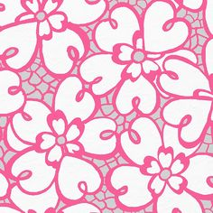 Lilly Pulitzer Fiesta Pink Pique Lace
