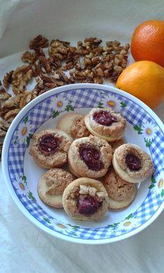 This no all / Disznóól - KonyhaMalacka disznóságai: Diós linzerkorong Oatmeal, Muffin, Cookies, Baking, Breakfast, Cake, Hungary, God, The Oatmeal
