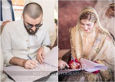 HD Pictures / Video of Hamza Ali Abbasi and Naimal Khawar Nikah Muslim Wedding Ceremony, Nikah Ceremony, Wedding Bride, Wedding Reception, Pakistani Bridal Dresses, Wedding Dresses, Pakistani Actress, Bridal Outfits, Celebs