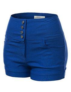 Hello Sailor Royal Blue Shorts. More cute & sexy women's shorts at ...
