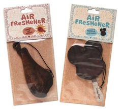 Disney Parks Air Fresheners - Air fresheners that looks and smell like popular Disney confections. Available at Disneyland and Disney World in the following scents: Turkey Leg, Mickey Premium ice cream bar, Candy Apple and Mickey Waffle.