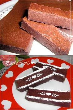 バレンタインに❤ 濃厚!焼きチョコケーキ