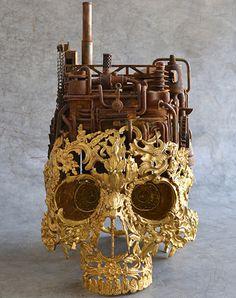 Skull Art - Denkfabrik