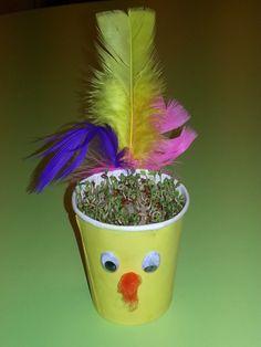 Bilderesultat for påskepynt barn karse Planter Pots, Easter, Spring, Creative, Kids, Crafts, Inspiration, Young Children, Biblical Inspiration