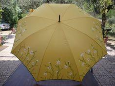 Paraguas Pintados a Mano por Pilar Villén