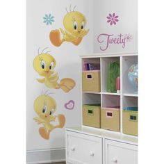 Tweety Bird Giant Wall Decals  I need some for my wall