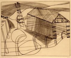 ICI shed 1948 by Ben Nicholson © Angela Verren Taunt 2016. All rights reserved, DACS/Artimage 2017. Image: © British Council