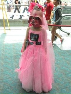 Darth Vader Princess Halloween Costume For Girls Star Wars