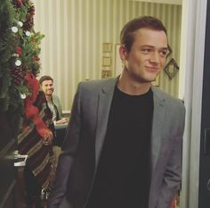 Taron Egerton on The Late Late Show with James Corden 7th of the 12th 2016